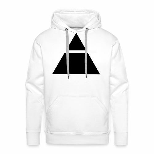 ALKIMASTA LOGO (THE AIR) - Sweat-shirt à capuche Premium pour hommes