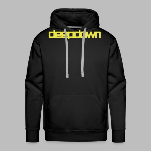 deepdownbannervectorfinal - Männer Premium Hoodie