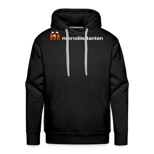 tshirt 1 schwarz - Männer Premium Hoodie