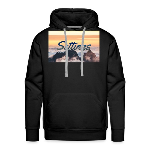 Settings Clouds - Men's Premium Hoodie