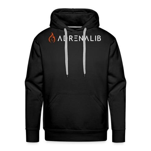 Logo ADRENALIB - Sweat-shirt à capuche Premium pour hommes