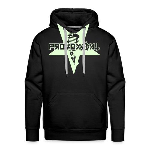 Provokant Logo vektor - Männer Premium Hoodie