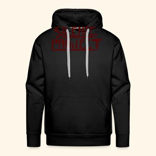 Silence Project - Sweat-shirt à capuche Premium pour hommes
