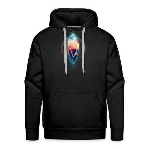 Crystal de test - Sweat-shirt à capuche Premium pour hommes