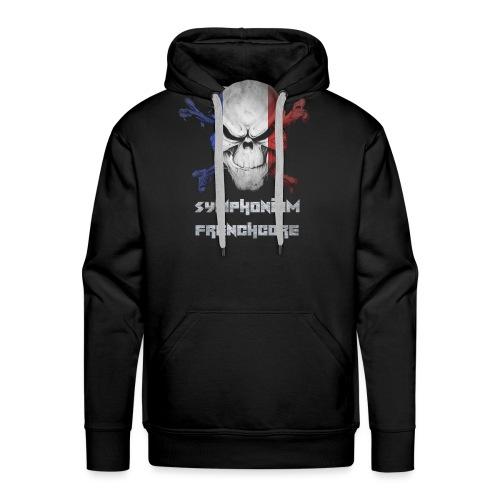 symphonium Frenchcore - Sweat-shirt à capuche Premium pour hommes