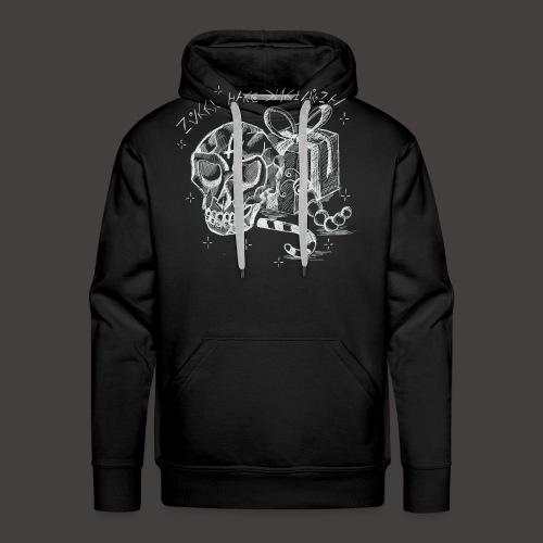 Merry Dark Christmas - Sweat-shirt à capuche Premium pour hommes