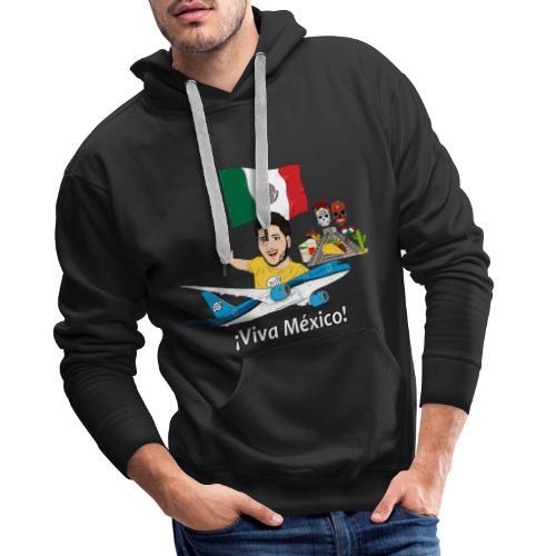 ¡Viva México! - Viaja con Yoel - Sudadera con capucha premium para hombre