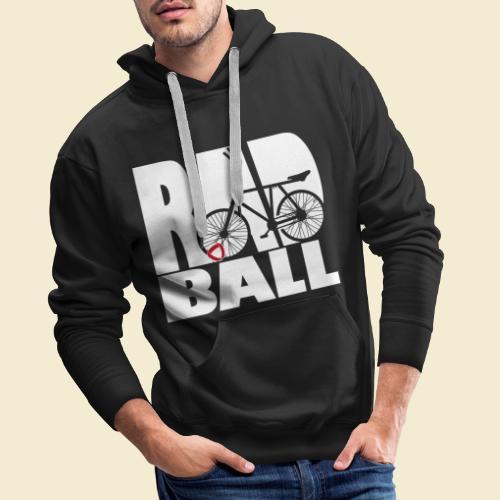 Radball | Typo - Männer Premium Hoodie