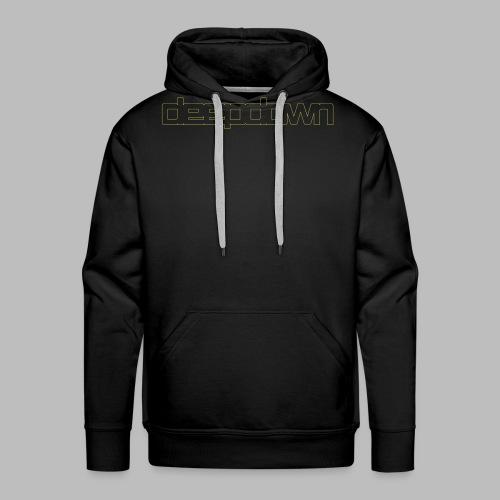 deepdownoutlinessvggg - Männer Premium Hoodie