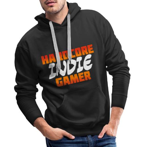 H_rdcore Indie Gamer - Männer Premium Hoodie
