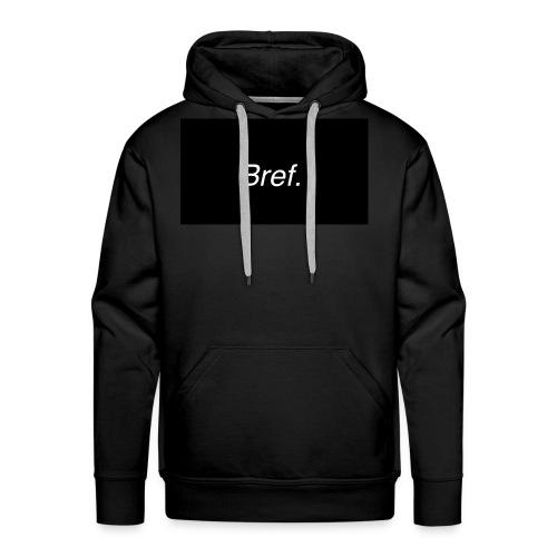 Bref - Sweat-shirt à capuche Premium pour hommes