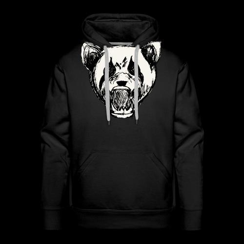 NatureRebellion Panda - Sweat-shirt à capuche Premium pour hommes