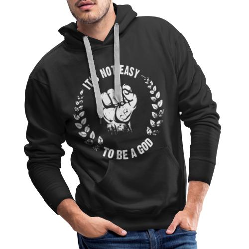 To be a God laurel - Männer Premium Hoodie