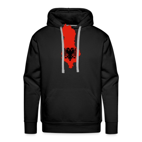 Albania - Sweat-shirt à capuche Premium pour hommes