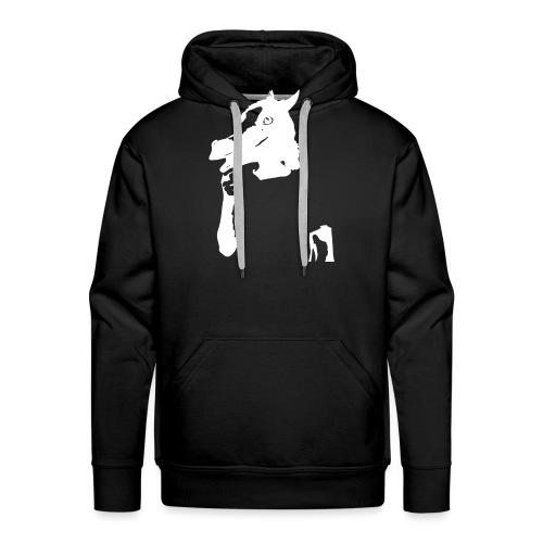 Funny horse - Sweat-shirt à capuche Premium pour hommes