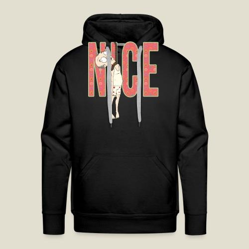 NICE - Sudadera con capucha premium para hombre