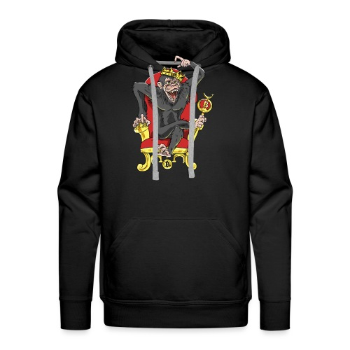 Bitcoin Monkey King - Beta Edition - Männer Premium Hoodie