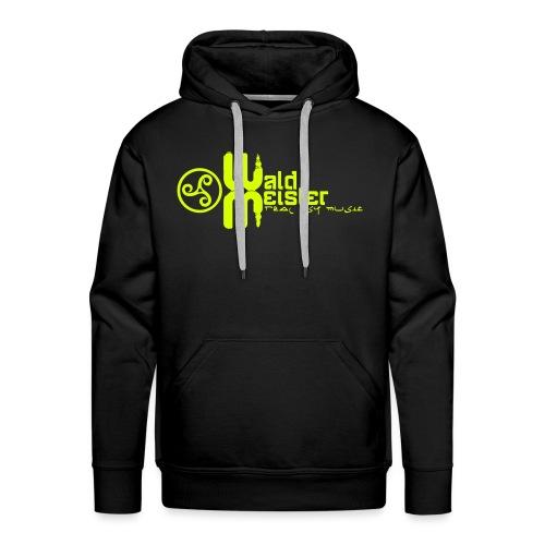 Waldmeister.ch real psy music - Men's Premium Hoodie
