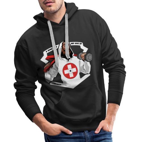 Swiss Fitness Hero - Männer Premium Hoodie
