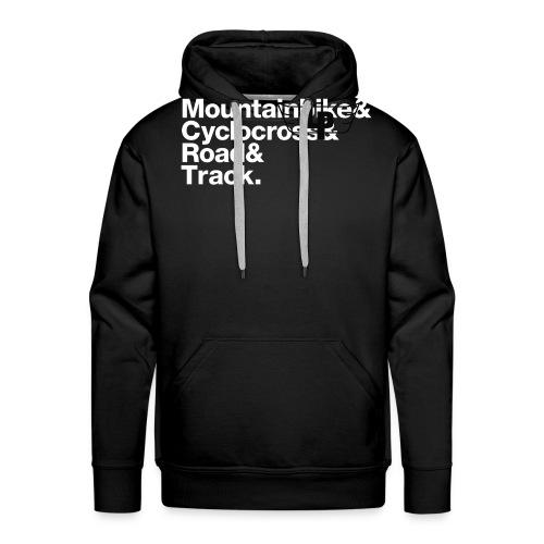 lp slogan white - Men's Premium Hoodie