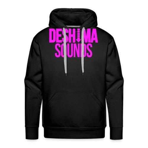 Fuchsia - Mannen Premium hoodie