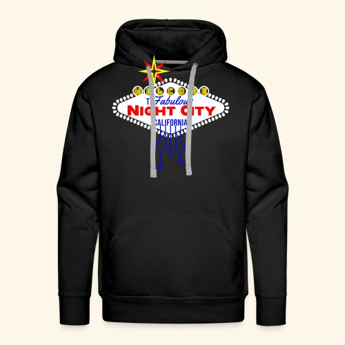 Welcome to fabulous Night City Cyber Punk 2077 - Männer Premium Hoodie