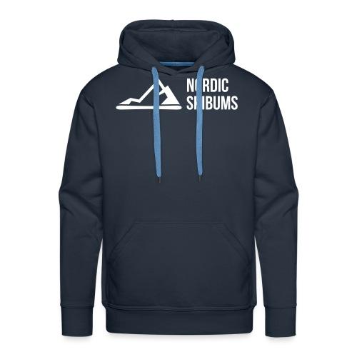 Nordic skibums ski - Men's Premium Hoodie
