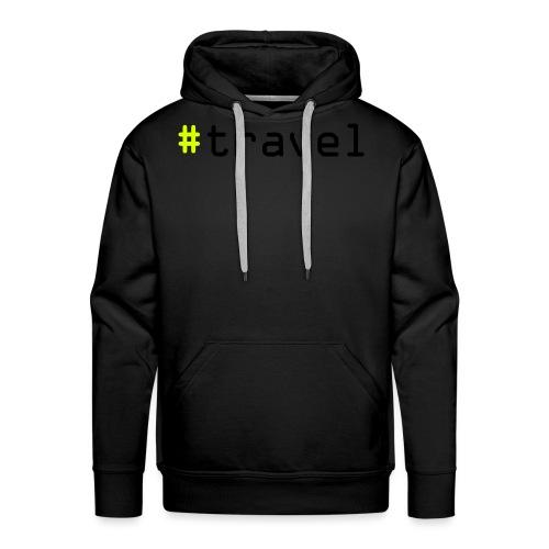 #travel - Männer Premium Hoodie