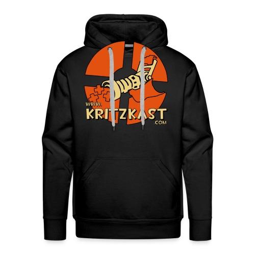 kk logo 26 flex 30cmx30cm - Men's Premium Hoodie