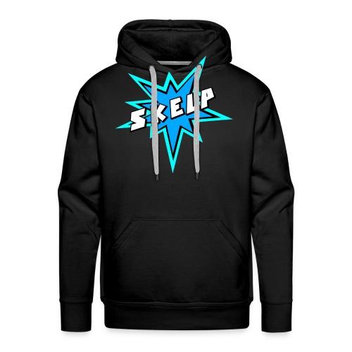Skelp - BLUE - Men's Premium Hoodie
