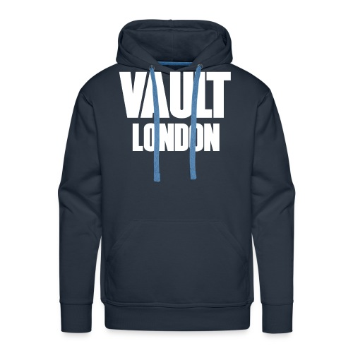 VAULT LONDON block white - Men's Premium Hoodie