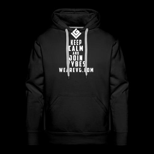 Logo 6 white - Men's Premium Hoodie