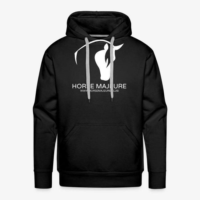 Horse Majeure Logo / Valkoinen