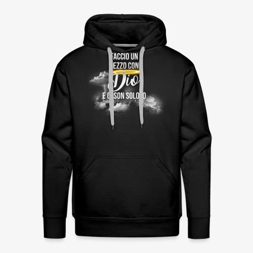 Rap Art Brand - Felpa con cappuccio premium da uomo