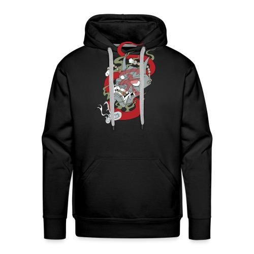 Démon - Sweat-shirt à capuche Premium pour hommes