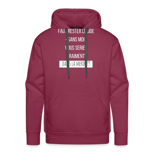 Je suis indispensable ! - Sweat-shirt à capuche Premium pour hommes