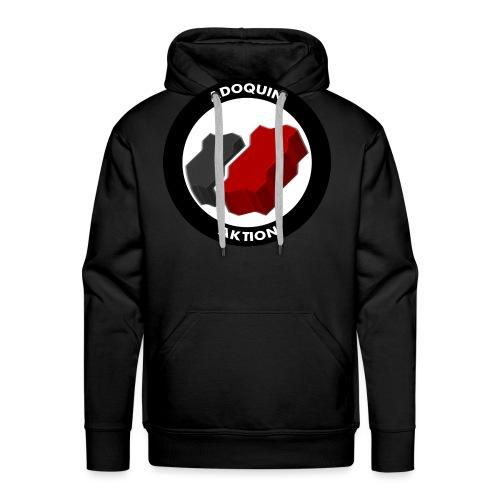 Adoquin Aktion - Sudadera con capucha premium para hombre