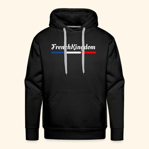 FrenchKingdom - Sweat-shirt à capuche Premium pour hommes