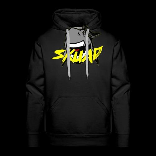 SharkSkuad - Sudadera con capucha premium para hombre