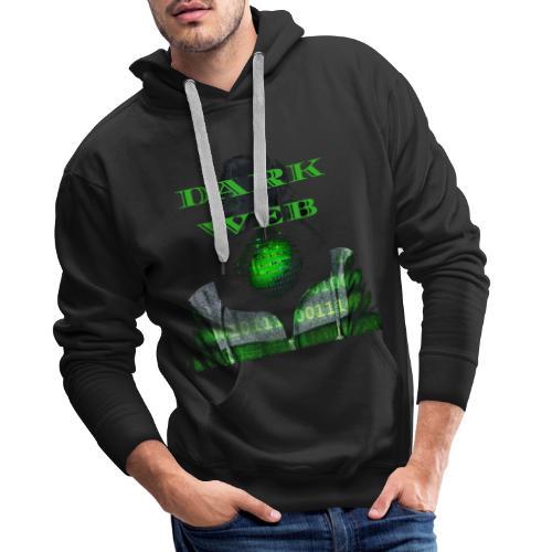 Dark weeb - Sweat-shirt à capuche Premium pour hommes