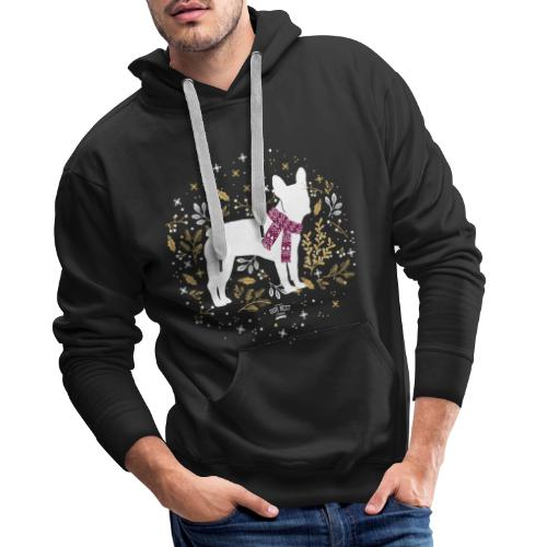 French Bulldog Winter - Männer Premium Hoodie