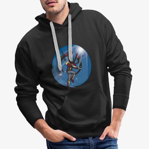 Space Elite - Sweat-shirt à capuche Premium pour hommes