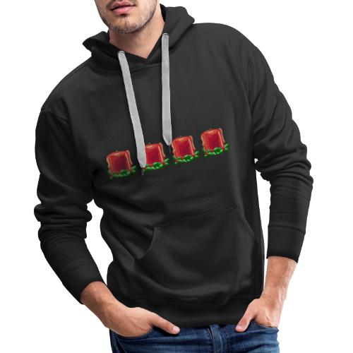Advent countdown 1 - Men's Premium Hoodie