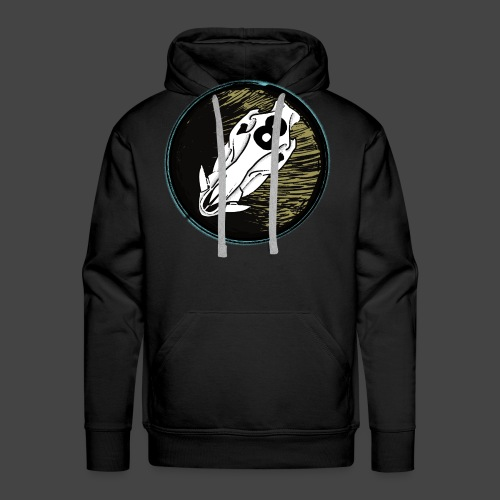 skully eightball backbanner - Männer Premium Hoodie