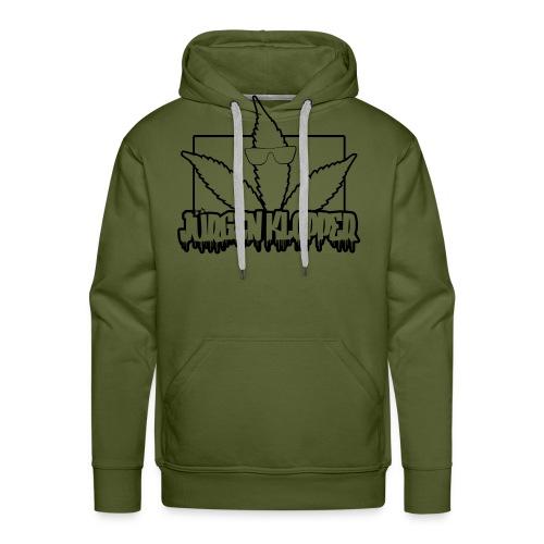 jk logo svg - Männer Premium Hoodie
