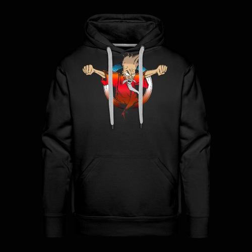 Wizard by Psykomars - Sweat-shirt à capuche Premium pour hommes