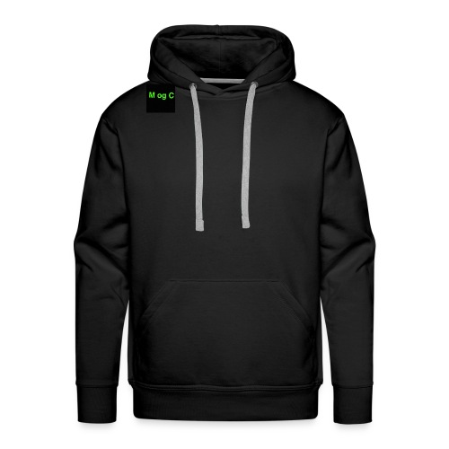 mogc - Herre Premium hættetrøje