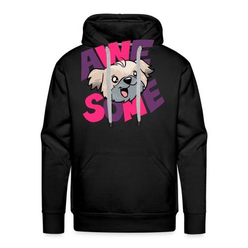 awesome dog - Men's Premium Hoodie