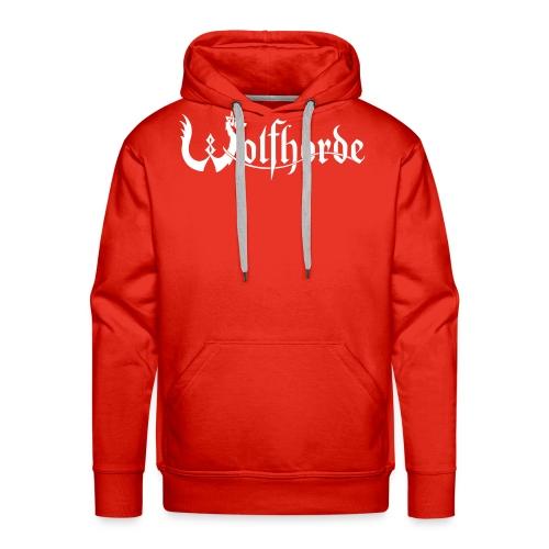 wolfhorde vector black - Men's Premium Hoodie