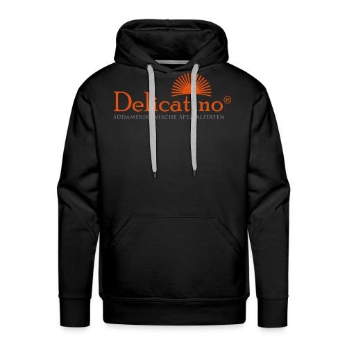 Delicatino Logo - Männer Premium Hoodie